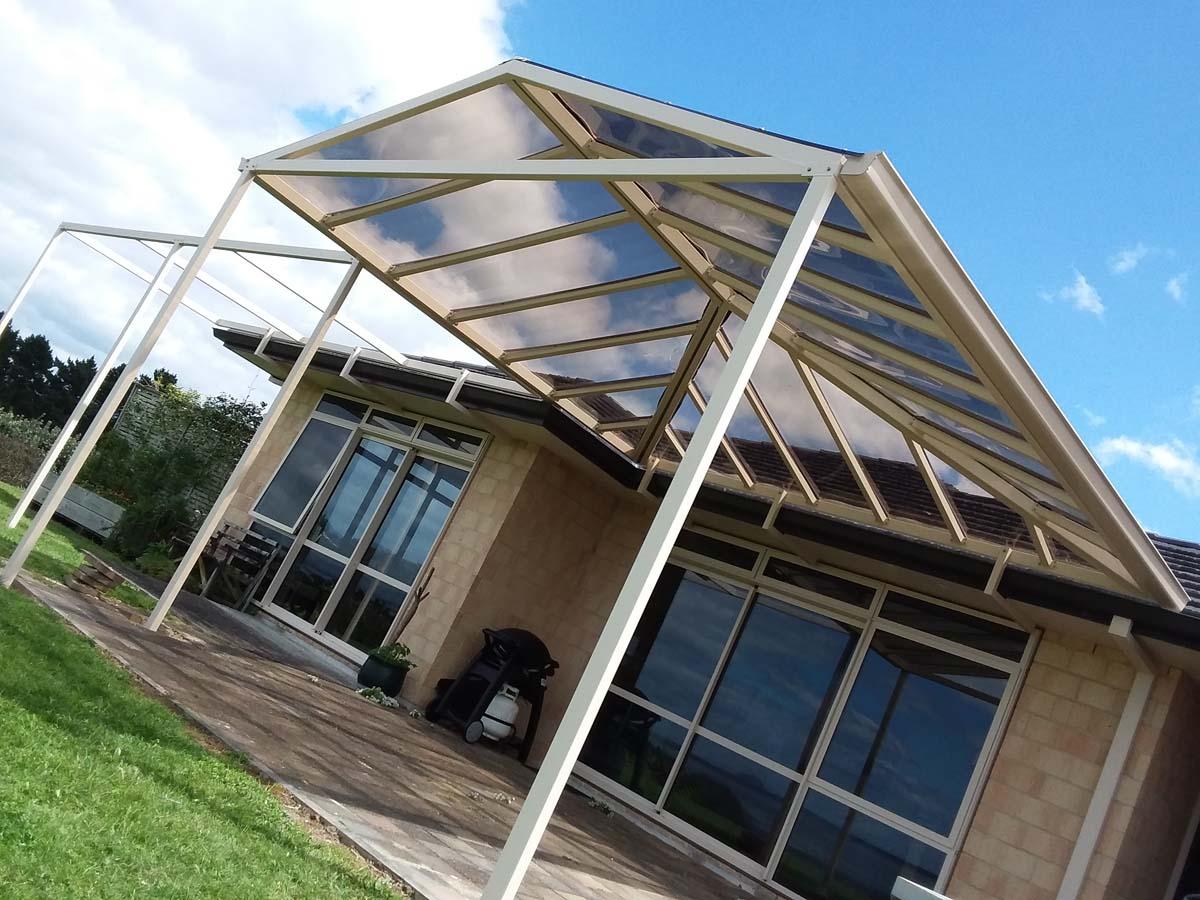 gable awning