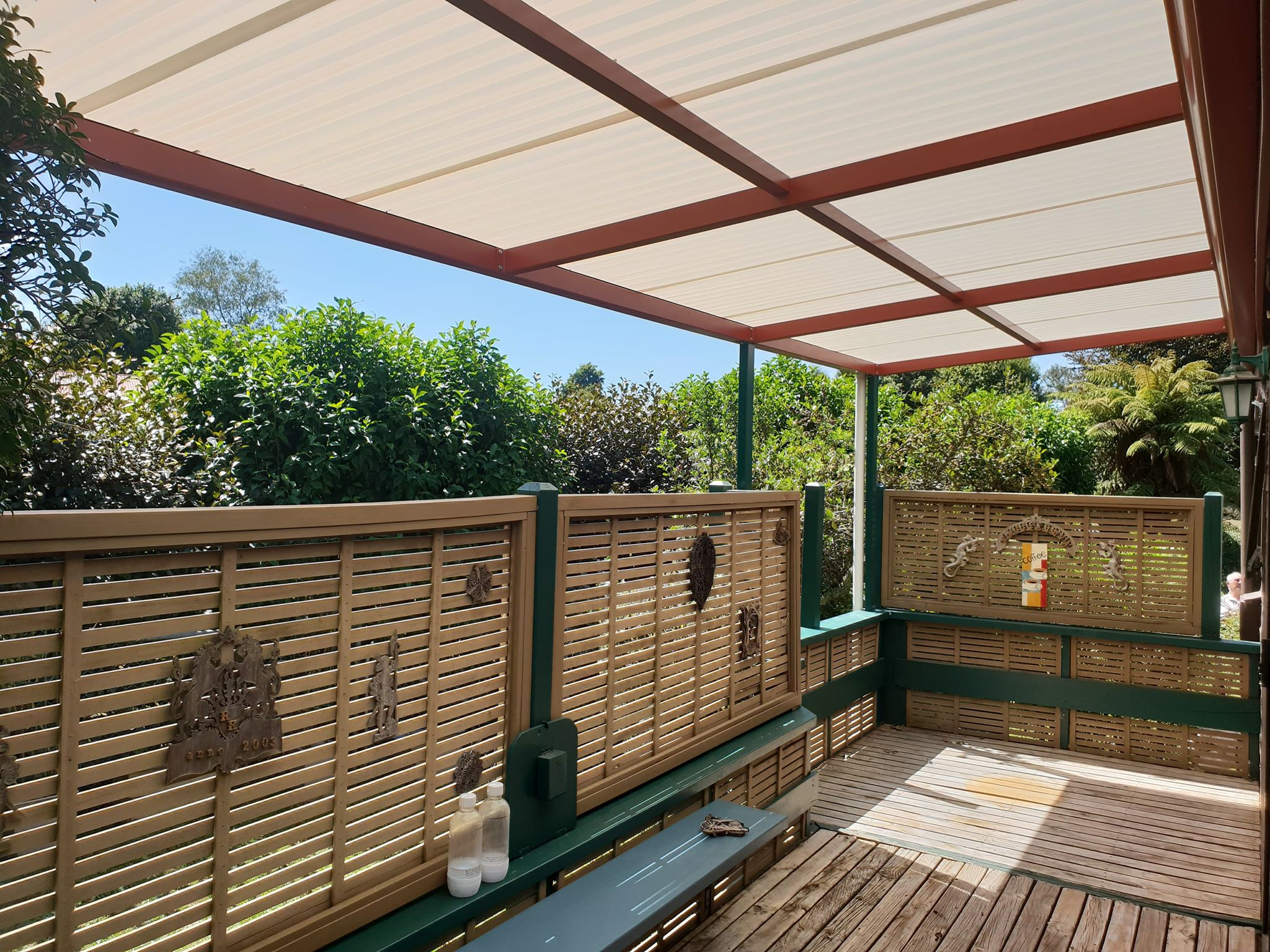 outdoor shade system