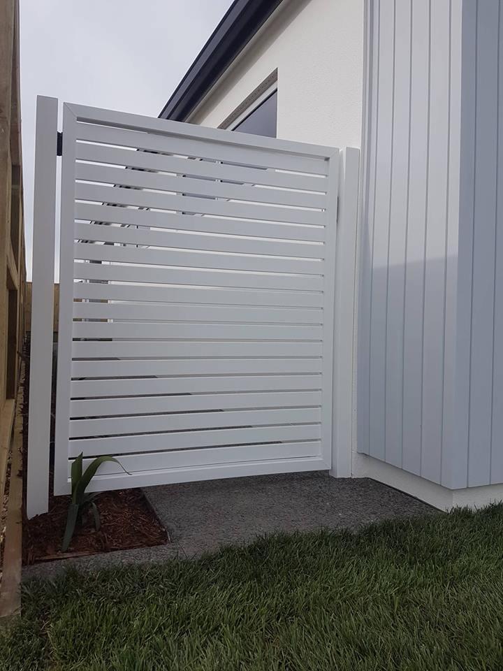 aluminium gate