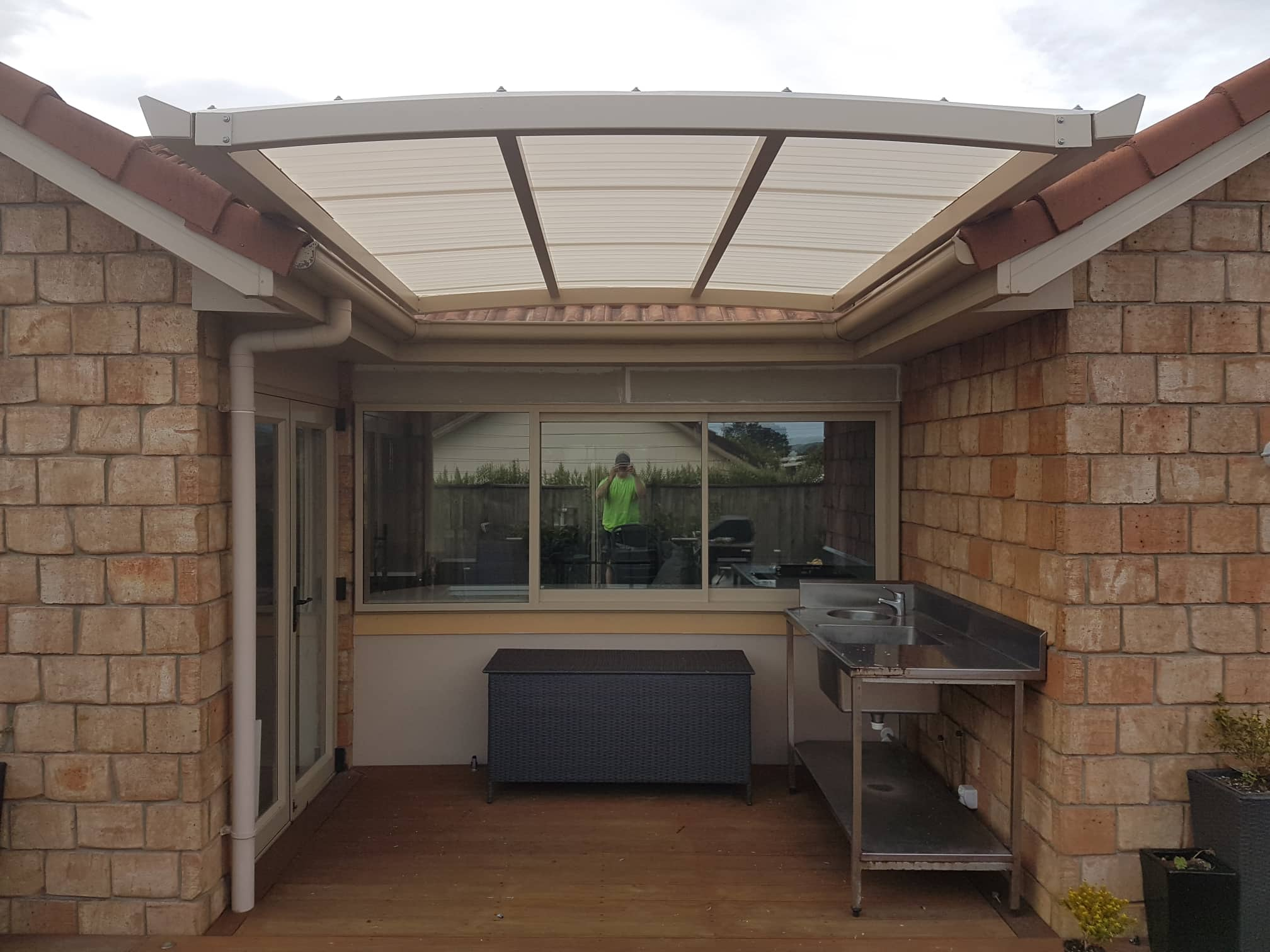 curved pergola systems