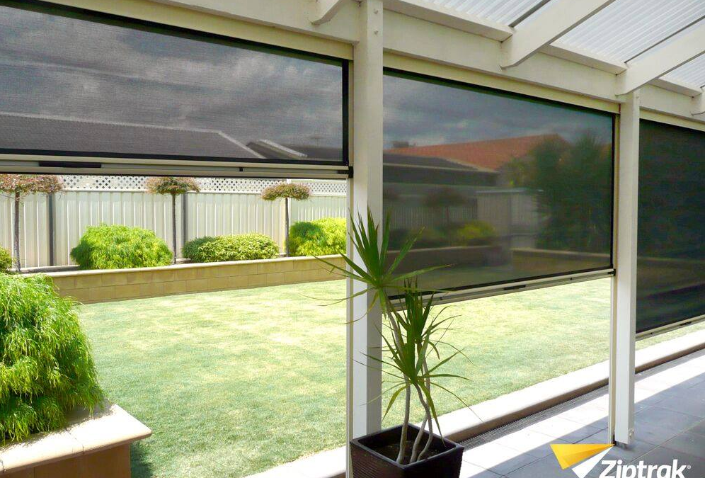 Complete Your Outdoor Space with Ziptrak Outdoor Blinds